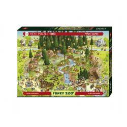 Puzzle Black Forest Habitat 1000 pezzi