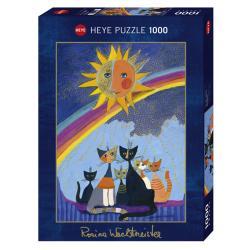 Puzzle Gold Rain 1000 pezzi