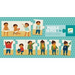 Puzzle Vestiamoci 10 pezzi dai 3 anni