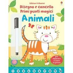 Libro primi punti magici Animali dai 4-6 anni