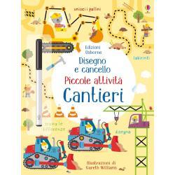 Libro disegno e cancello Cantieri dai 4-7 anni