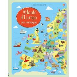 Libro Atlante Europa per immagini +5