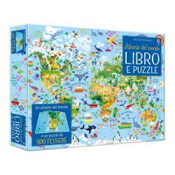 Libro puzzle Atlante del mondo dai 5 anni