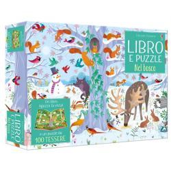 Libro puzzle Bosco dai 4 anni