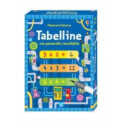 Flashcard Tabelline dai 7 anni