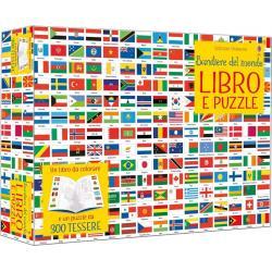 Libro puzzle Bandiere del mondo dai 5 anni