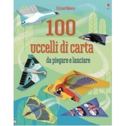 100 Uccelli di carta da piegare e lanciare +6 anni