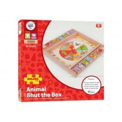 SHUT THE BOX DEGLI ANIMALI DAI 3 ANNI