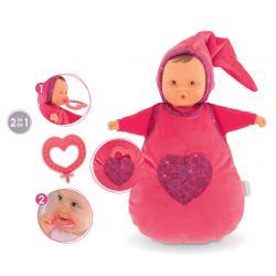 Doudou bambola rosso +0 mesi