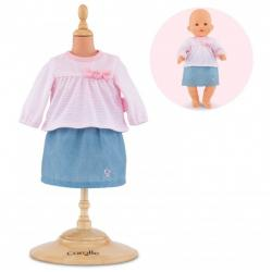 Top and skirt corolle dai 2 anni