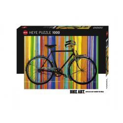 Puzzle Bike Art 1000 pezzi