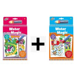 2 Water Magic set Cuccioli ed Unicorni dai 3 anni offerta temporanea