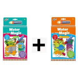 2 Water Magic set Safari e Dinosauri dai 3 anni offerta temporanea