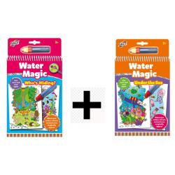 2 Water Magic set Chi si Nasconde e Sotto il Mare dai 3 anni offerta temporanea