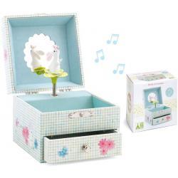 Cofanetto musicale Portagioie Sweet rabbits song