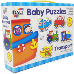 Baby Puzzle Trasporti dai 18 mesi