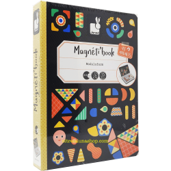 Libro Magnetico Tangram +3 anni