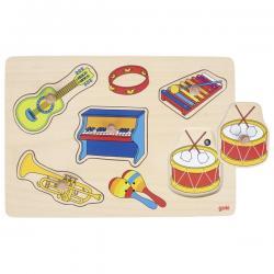 Puzzle Musicale Strumenti da 1 anno