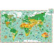 Puzzle osservazione mondo con libricino 200 pezzi dai 6 anni