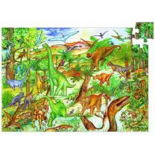 Puzzle osservazione dinosauri con libricino 200 pezzi dai 6 anni