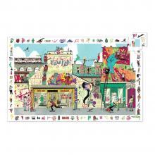 Puzzle osservazione street art 200 pezzi dai 6 anni