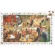 Puzzle osservazione equitazione 200 pezzi dai 6 anni