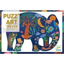 Puzzle art elephant 150 pezzi dai 6 anni