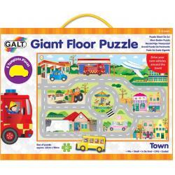 Puzzle gigante città 3-6 anni