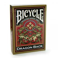 Bicycle® Gold Dragon Back