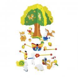 Giostrina albero in legno