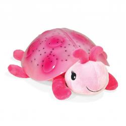 Coccinella proiettore stelle rosa Twilight Ladybug Pink Cloud b