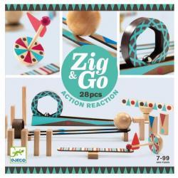 Reazione a Catena Zig and Go 28 pezzi dai 7 ai 99 anni