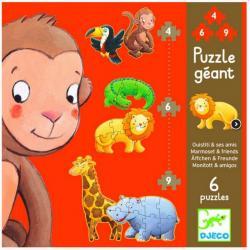 Primi Puzzle Giganti +2 anni