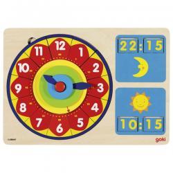 Orologio impariamo le ore puzzle dai 5 anni