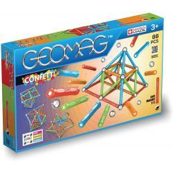 Geomag Confetti 88 pz +3 anni