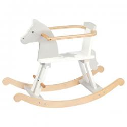 Cavallo a Dondolo White +1 anno