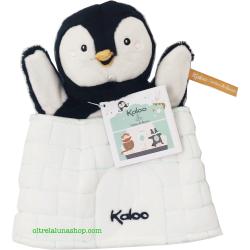 Burattino DouDou Pinguino sorpresa +0 mesi