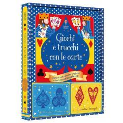 Libro Giochi e trucchi con le carte con due mazzi dai 7 anni
