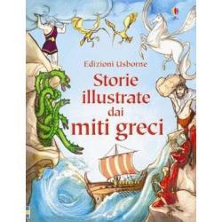 Libro Storie illustrate dai miti greci dai 5-10 anni
