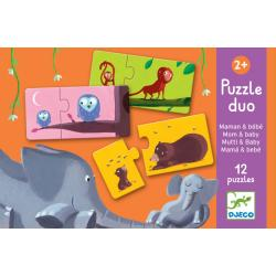 Puzzle Duo Mamma e Baby Dai 2 anni