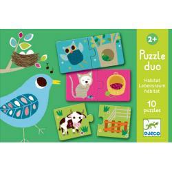Puzzle Duo La Propria Casa dai 2 anni