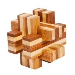 """Rompicapo in legno """"Beam"""" Difficoltà: Dilemma"""