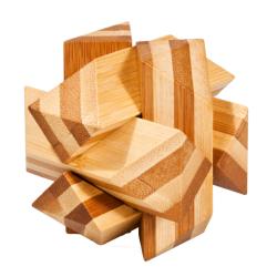 """Rompicapo in legno """"Nodo Angolare"""" Difficoltà: Dilemma"""