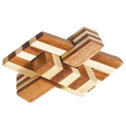 """Rompicapo in legno """"Chain Knot"""" Difficoltà: Dilemma"""