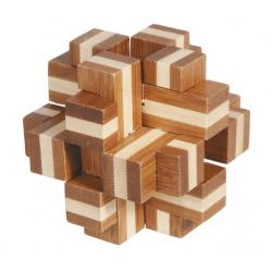 """Rompicapo in legno """"Cubo croce"""" Difficoltà: Incredibile"""