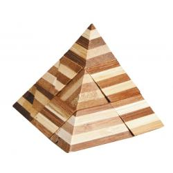 """Rompicapo in legno """"Piramide"""" Difficoltà: Dilemma"""