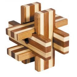 """Rompicapo in legno """"Blocchi magici"""" Difficoltà: Dilemma"""