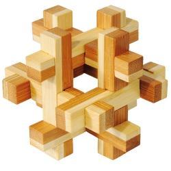 """Rompicapo in legno """"Construction"""" Difficoltà: Dilemma"""