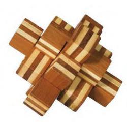 """Rompicapo in legno """"Blocco"""" Difficoltà: Dilemma"""