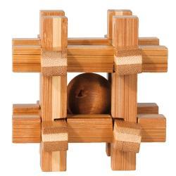 """Rompicapo in legno """"Grid Box"""" Difficoltà: Difficile"""